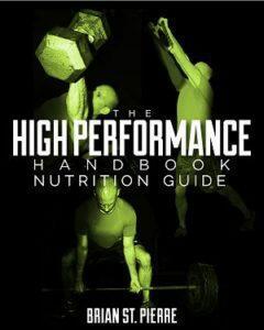 High Performance Handbook Nutrition Guide
