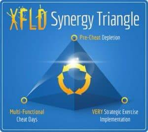 Xtreme Fat Loss Diet Synergy Triangle