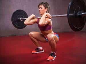 She Lifts Squat