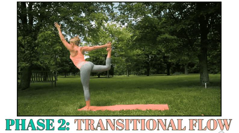Yoga Burn Transitional Flow