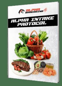 Alpha Shredding Intake Protocoll
