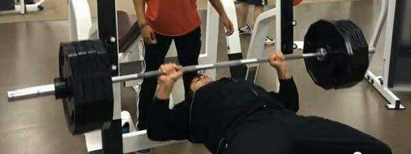 Blast 5 Training bench Press