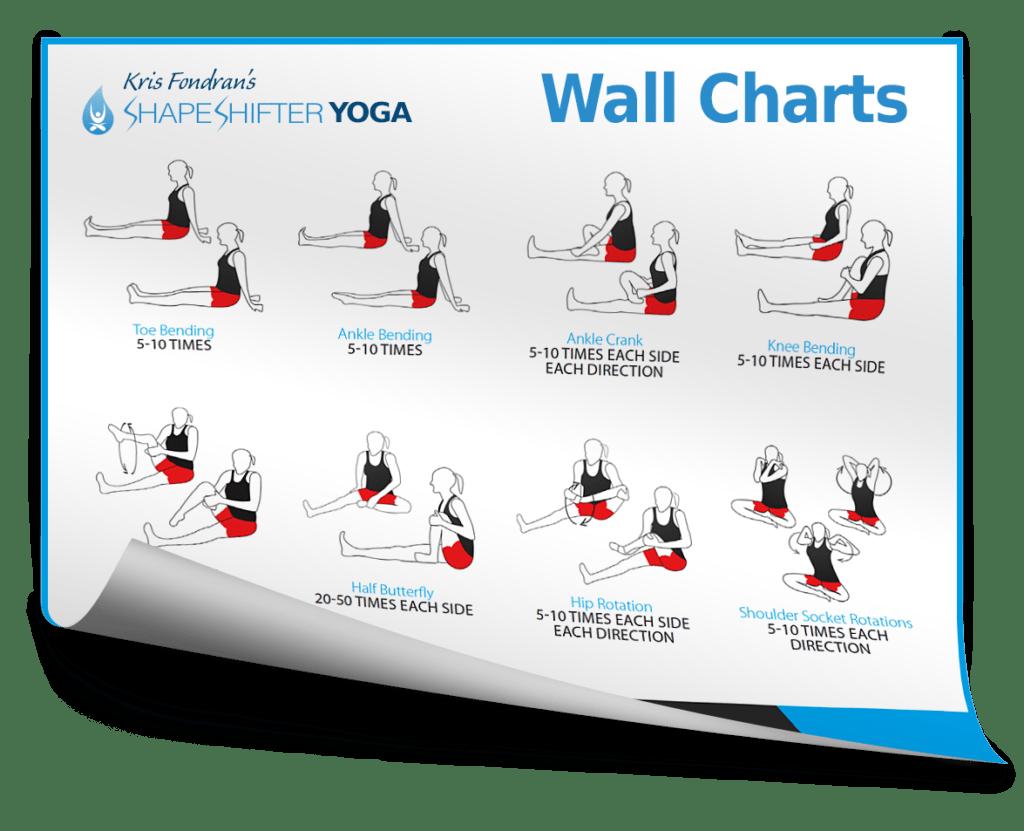 Shapeshifter Yoga Charts