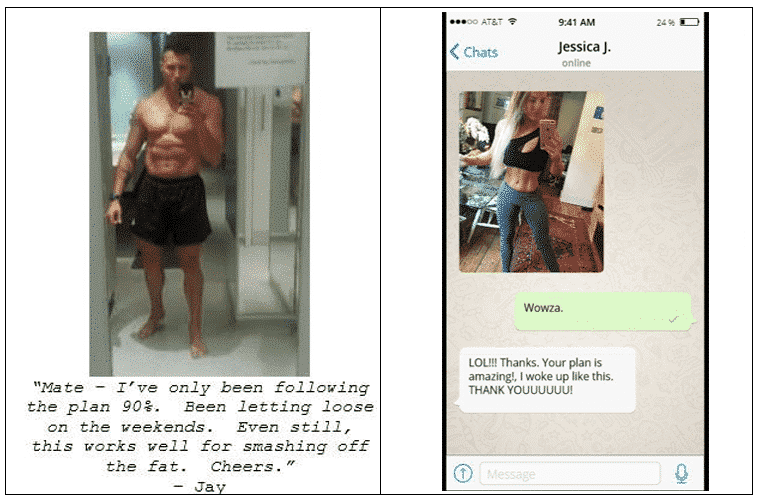 Underground Fat Loss Manual Testimonials