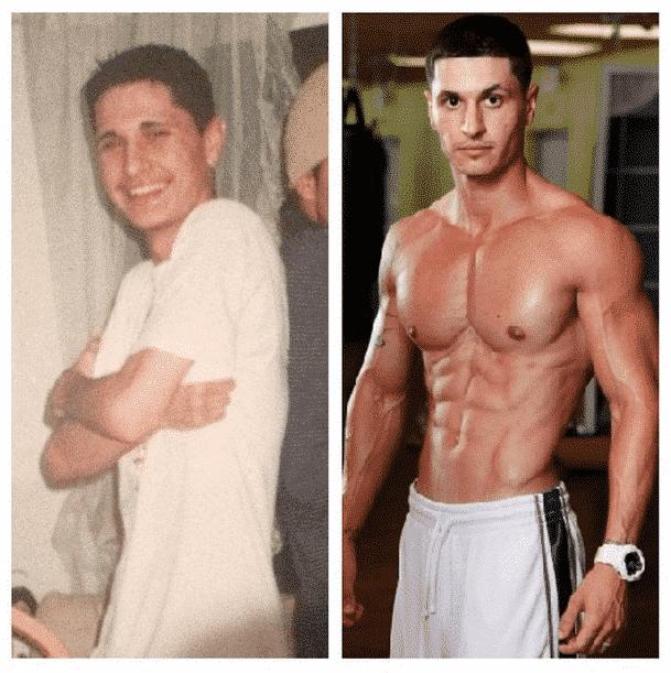 Alain Gonzalez Before After