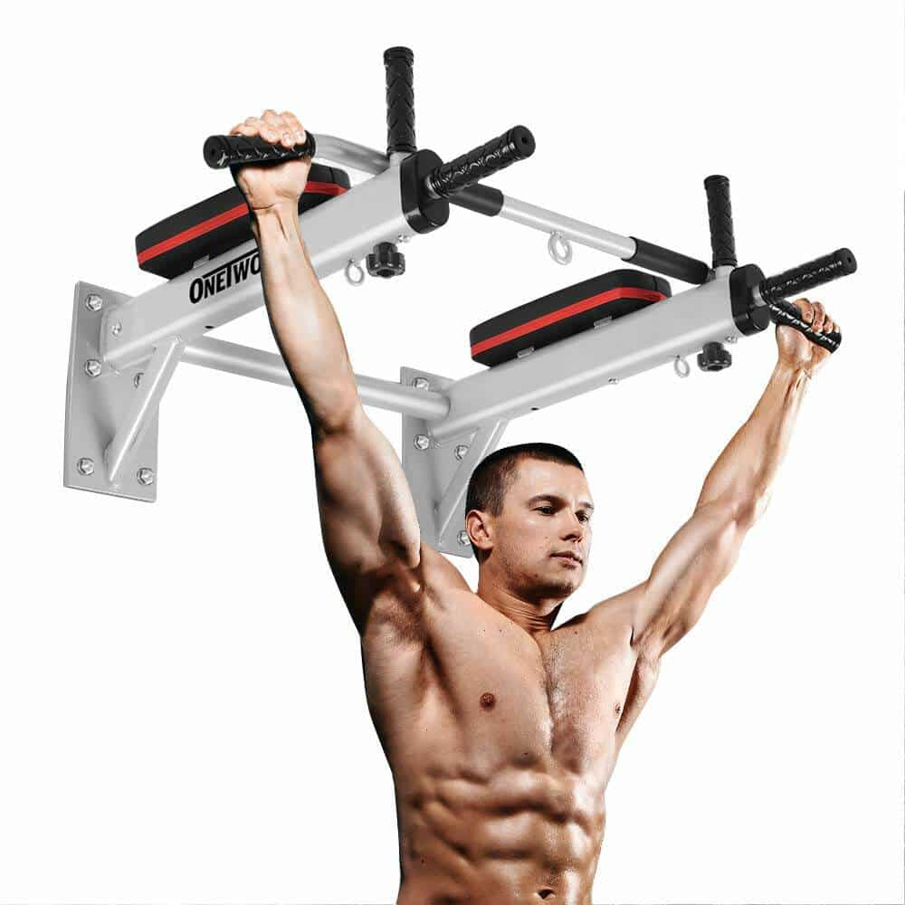 Best Pull Up Bars - OneTwoFit Wall Mounted Pull Up Bar